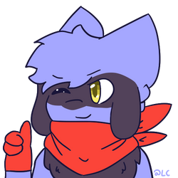Theodor The Riolu [COMMISSION] by LenaCrafter
