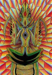 God by lizard-mantidae