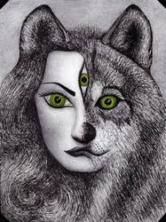She-wolf by lizard-mantidae