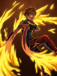 Dancing Flames by nursury0