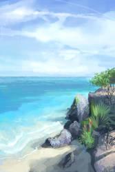 the beach by bongoshock