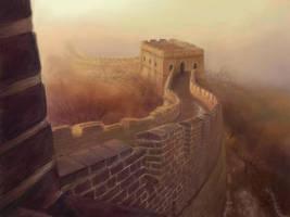 Great Wall by bongoshock