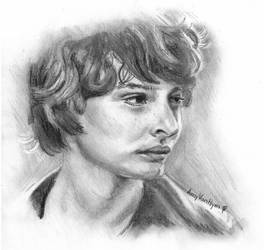 Finn Wolfhard by AmyVanHym