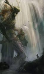 Greenman / Leshy by heather-mc-kintosh