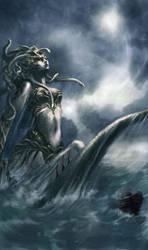 Kelpei / Gorgon by heather-mc-kintosh