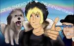 JoeyBlondeWolf2 by TheKasuma