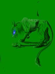 Demon cat Eddie. 4. by Redfiredark