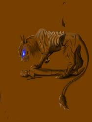 Demon cat Eddie. 5. by Redfiredark
