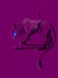 Demon cat Eddie. 6. by Redfiredark