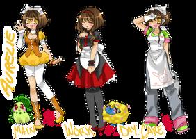 Pokemon Gold Oc -Aurelie- by DesireeU