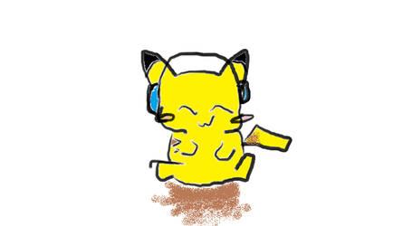 Pikachu by SilverWolfx3