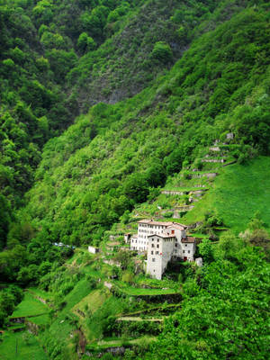 Mountainside view by giamoco
