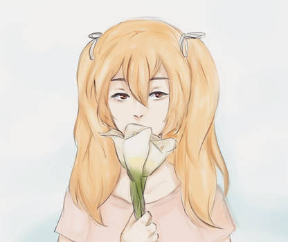calla lily by Karouii