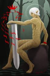 Fenris - Ace of Swords by Icetigris