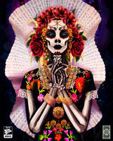 Catrina Tehuana by Rusembell