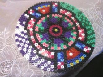 Mandala Hama Beads by Contxu