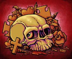 SEVANS Skull by SEVANS73