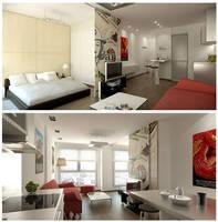 Apartamento Torre Alzira by c4lito3d
