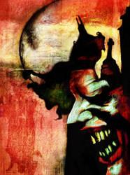 A Dark Knight by Art-by-Jilani