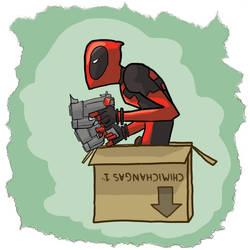 Deadpool: Chimichangas? by Glogzilla
