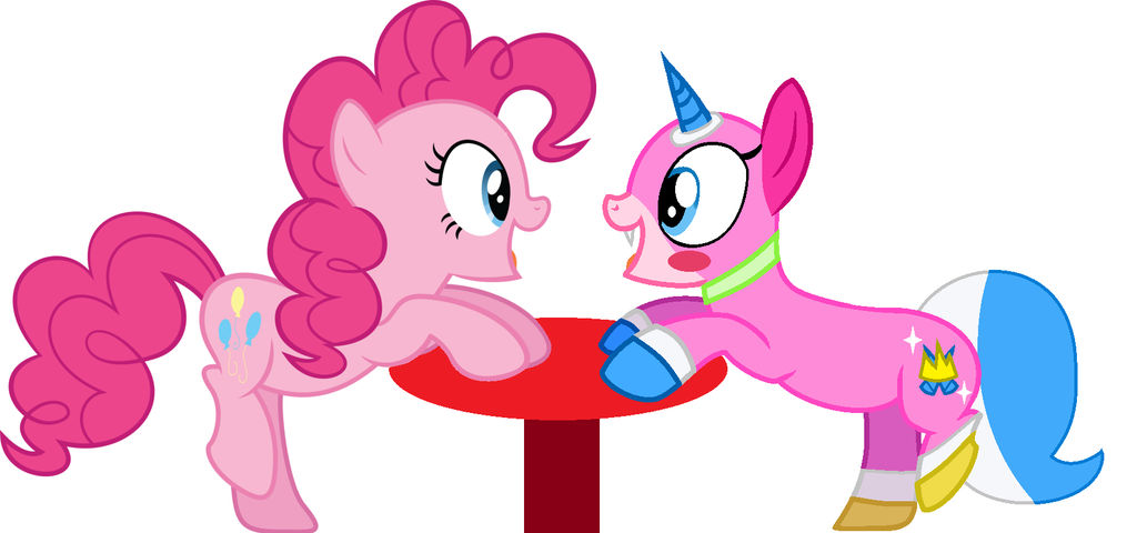 Pinkie Pie and UniKitty by ForeverBunkey123 on DeviantArt