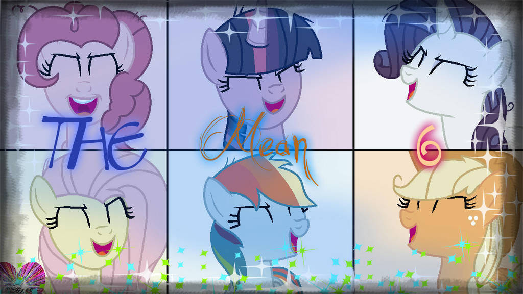 The Mean 6 (Effects) (w/ Speedpaint!) by ForeverBunkey123