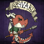 Wyvard the Cold-Blooded Cavalier by DragonDePlatino