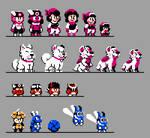 Jesse NES Sprites by DragonDePlatino