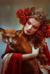 Autumn goddess by Black-Bl00d