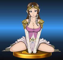 Best Smash Trophy - Zelda Fan Art by Some1smarter