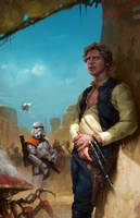 Han Solo by GiddyGriffin