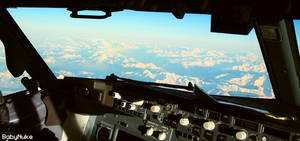 Life at 37000 feet by babynuke