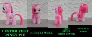 Custom Filly Pinkie Pie by janiceghosthunter