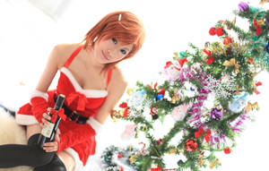 Merry christmas_mikoto by ayatouch