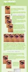 Eye Tutorial-Make Up + Swirls by Sugargrl14