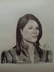 Ashley Williams - Mass Effect 3 by codyguana