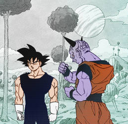 DBZ_WHAT IF_commission_ by carlosthemanoflove