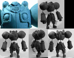 Battle Chasers: Calibretto WIP by seankylestudios