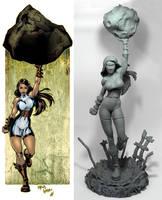 Jupiter comparison by seankylestudios