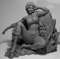 Power Girl by seankylestudios