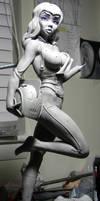 Rocketeer Girl WIP pt 2 by seankylestudios