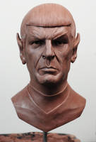 Classic Spock WIP 1/2 scale by seankylestudios