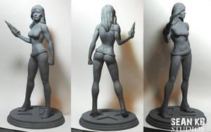 Psylocke 360 by seankylestudios