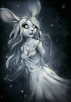 Ghostly Bun by TasDraws