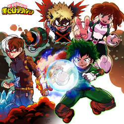 Class A - Boku no Hero Academia by smokeragon