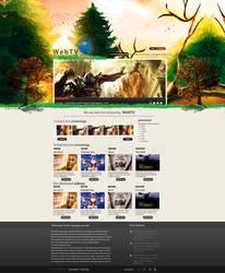 Live Stream Web Design by vasiligfx