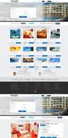 Travel Web Design by vasiligfx