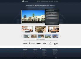 Rent Apartments Web Design by vasiligfx