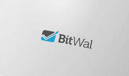 Bitwal Logo Design by vasiligfx