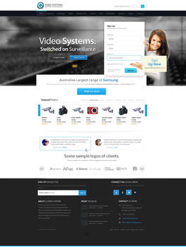 Video System Web Design by vasiligfx